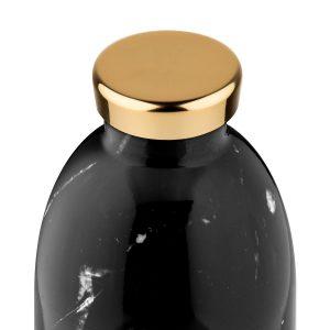 Botella Clima Black Marble 330ml