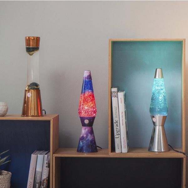 Lámpara Azul Purpurina