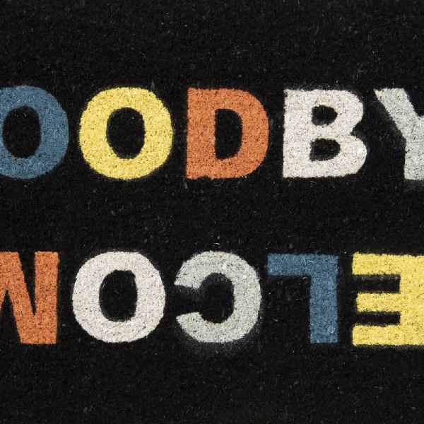 Felpudo Welcome/Goodbye