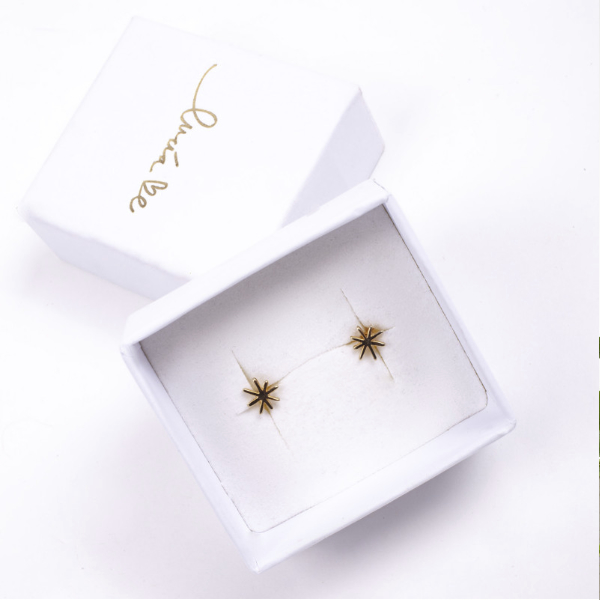 Pendientes Mini Halley Oro