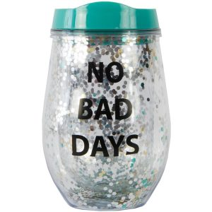 Vaso Purpurina No Bad Days