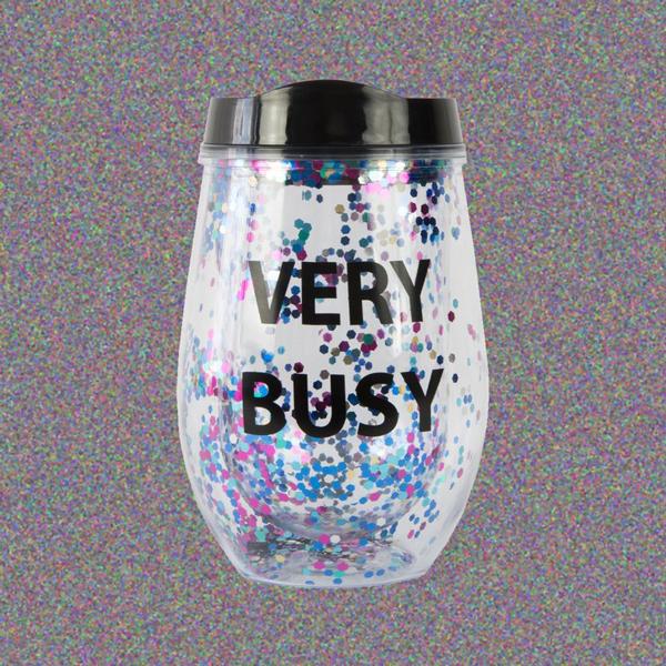 Vaso Purpurina Very Busy