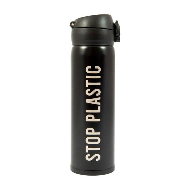 Botella Termo Stop Plastic