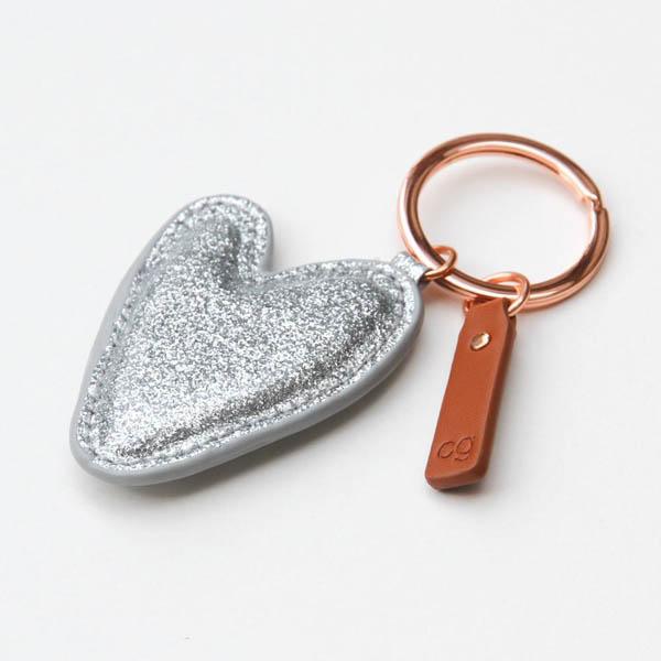 Llavero Corazón Glitter