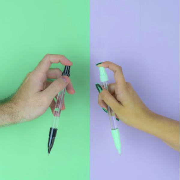 Bolígrafo Spray