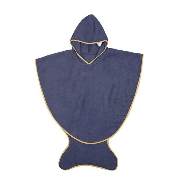 Capa Baño Azul Marino 0/3 años