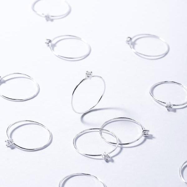 Anillo Promise Silver