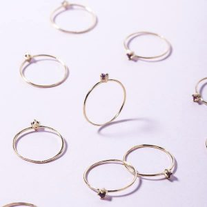 Anillo Promise Gold