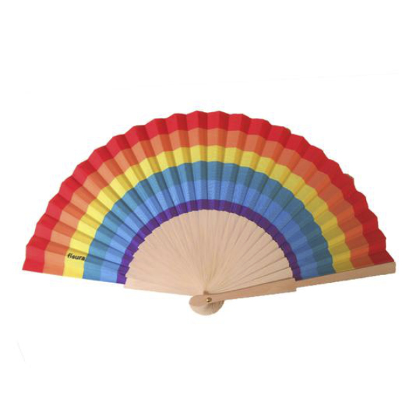Abanico Rainbow
