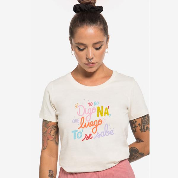 Camiseta no digo ná