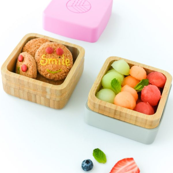 PACK SNACK BAMBOO ROSA