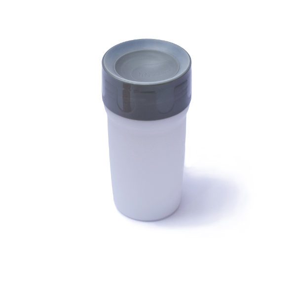 vaso regular gris