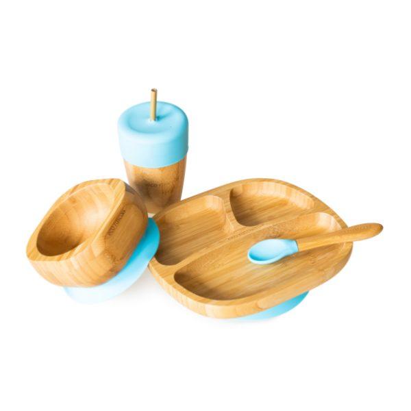 Vajilla Bamboo Azul