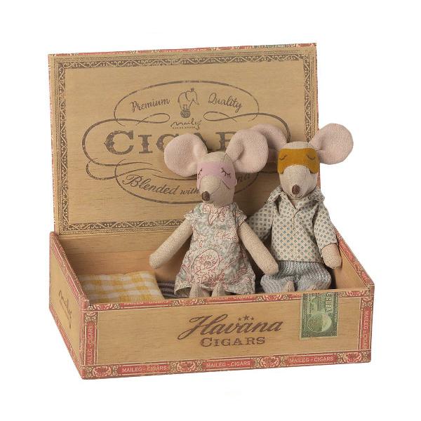 Pareja Ratones caja Puros