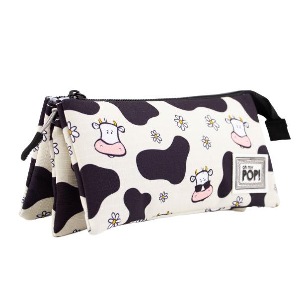Estuche triple cow